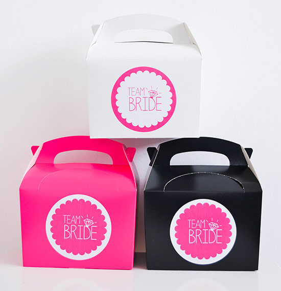 Pink, White and Black hen boxes